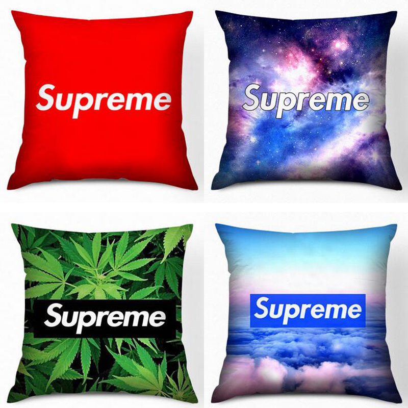 Vintage Red Cushion Pillow Covers Car Cushion Home Decor Supreme Cushion Gift Camouflage Cover For Sofa