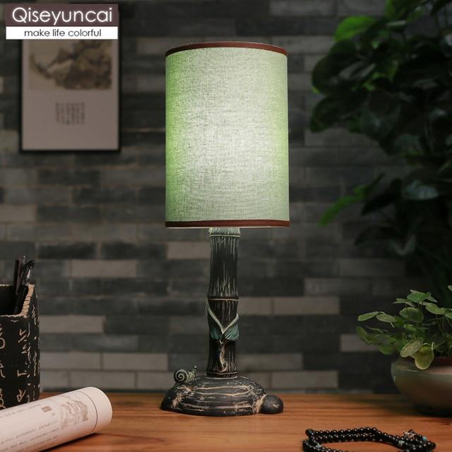 2019 chino lámpara Qiseyuncai Vintage Barato bambú de nuevo rBWdeCxo