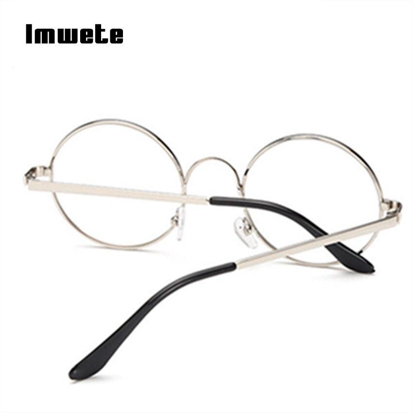 0d34603dbce Harry Potter Glasses Round Spectacle Glasses Frame Sunglasses Men Women  Vintage Metal Sun Glasses Frames Optical Transparent-in Eyewear Frames from  Apparel ...