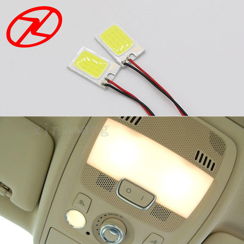 2 stk 26mm * 16mm Cars T10 Festoon ba9s Dome Adapter Panel Light COB - Billygter - Foto 6