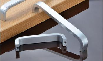 Modern Furniture Pull Hand Fashion Cabinet Wardrobe Handle Space Aluminum Drawer Handle
