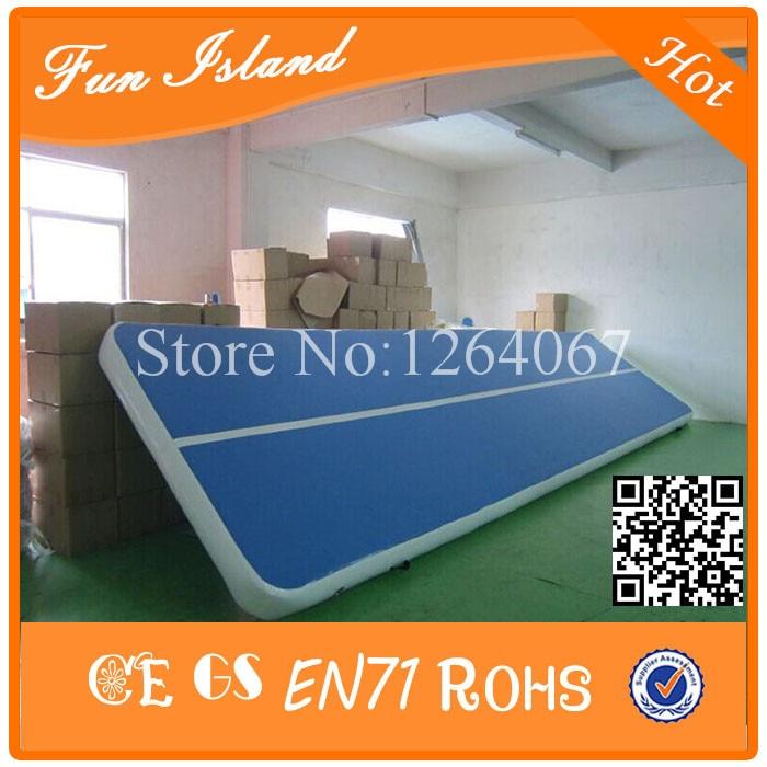 Gratis Pengiriman 0.9mm PVC 15x2 m Tiup Airtrack, Tiup gym Mat, Tiup - Hiburan dan olahraga luar ruangan - Foto 6