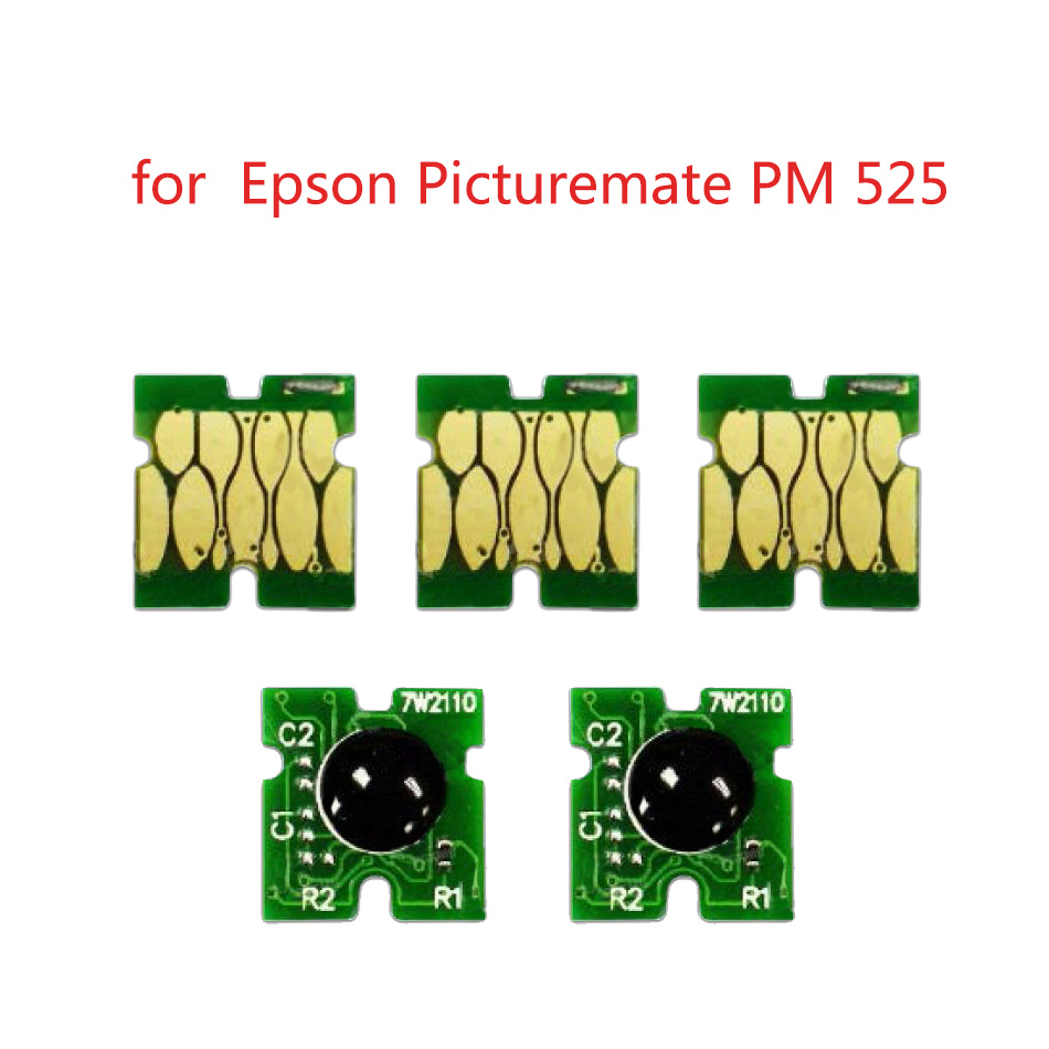 5 pcs New Chips compatible for ink cartridge T376 for Epson PictureMate PM 525 pm525 pm