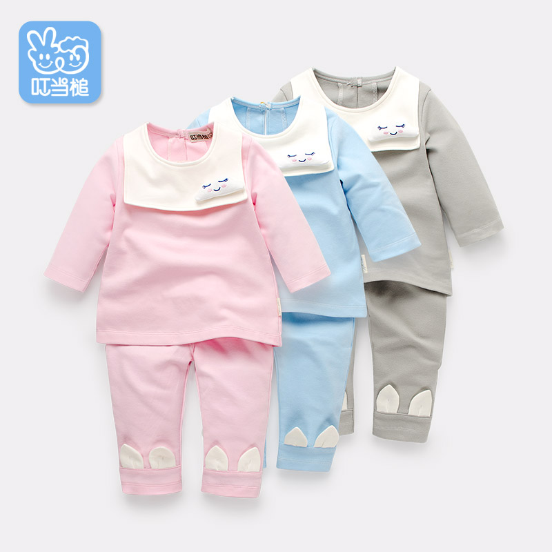 Dinstry boy suit autumn pack 0-3 cartoon 1 baby spring clothing long sleeve thin cardigan 6 spring dress 12 months 2 years old dinstry infant clothing spring children s clothing 0 1 2 3 year old baby clothes spring and autumn t shirt romper 2pieces sets