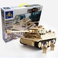 2016 Nuevo 995 unids Siglo Militar Alemán Rey Tigre Cañón Del Tanque Modelo de Bloques de Construcción Ladrillos Establece Niños Juguetes Compatible con legoe