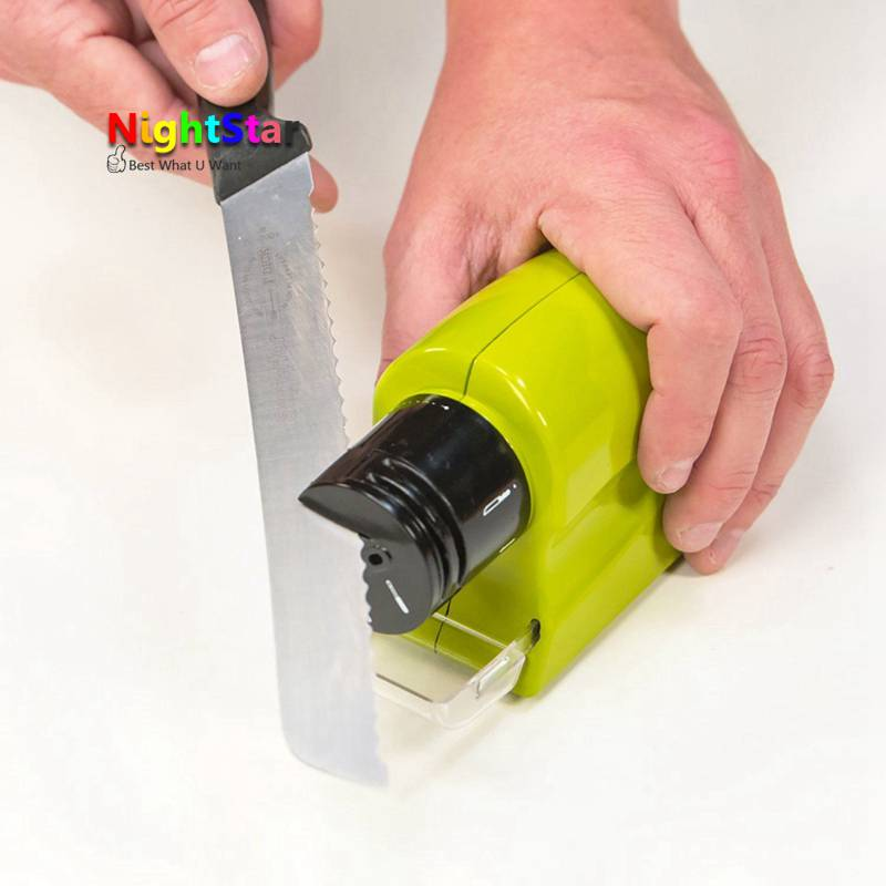 цены Professional Electric Ceramic Knife Sharpener Sharpening Stone Household Tools