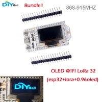 0 96 OLED Display ESP32 WIFI Bluetooth Lora Development Board Transceiver SX1276 868MHz 915MHz IOT With