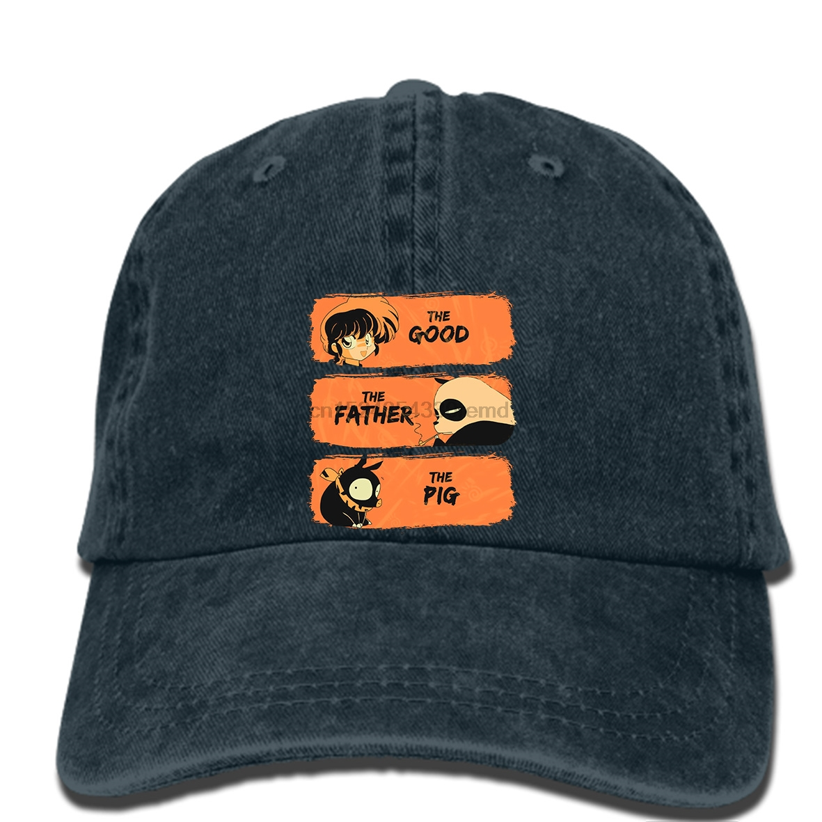 Men Hat Baseball-Caps Printed New-Style The Hip-Hop Good-The-Father-The-Pig Ranma