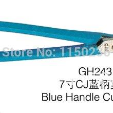 1 шт./лот GH243 изогнутые синие ручные резаки, плоскогубцы для ювелирных изделий, инструменты для изготовления ювелирных изделий DIY инструменты, мини режущие плоскогубцы