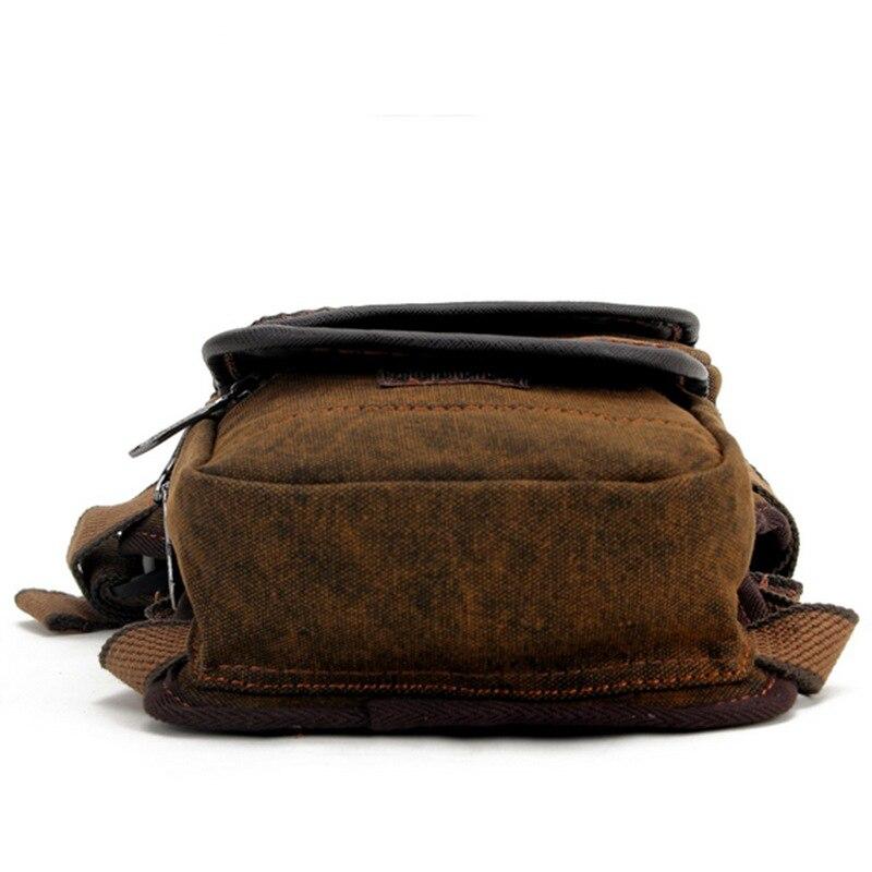 Sacchetto Uomo Hip Fanny Del Tela Belt Bag Alpinismo Dell'anno 120 Vita Borse purpose Stile Della Multi Pacchetto Viaggi Da Khaki Di Gamba fXa6S