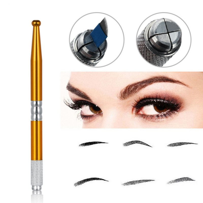Transparent tattoo hand-embroidered eyebrow pencil tattoo special tattoo eyebrow pencil floating eyebrow pencil  new