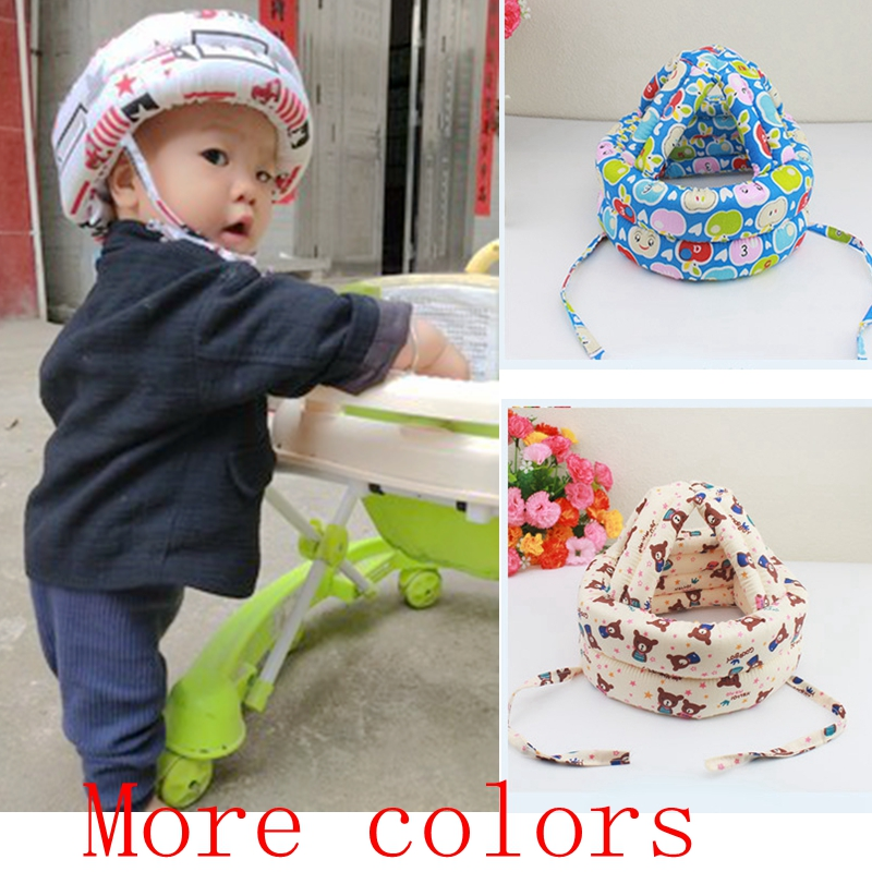 Adjustable Kid Head Protection Pad Baby Anti-collision Protective Hat Baby Walk Sit Safety Helmet Infant Anti-Bump Cap Protector baby head protective pad cartoon animal toddlers pillow infant learning walk safety cushion fj88