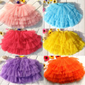 Summer 9 color girls tulle skirt girls dance tutu skirts children clothing kids clothes