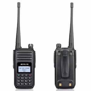 Image 2 - RETEVIS RT80 Ham راديو DMR المذياع اللاسلكي الرقمي 5 واط UHF VOX FM راديو المحمولة اتجاهين راديو Amador التناظرية/الرقمية جهاز الإرسال والاستقبال