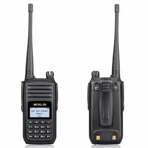 Image 2 - Retevis RT80 アマチュア無線 dmr デジタルトランシーバー 5 ワット uhf vox の fm ラジオポータブル双方向ラジオ amador アナログ/デジタルトランシーバ