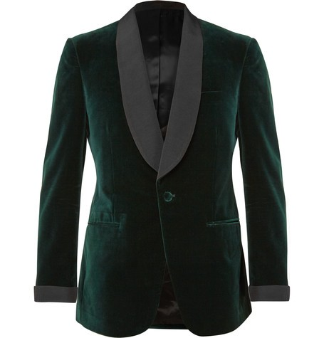 Green Velvet Tuxedo Jacket Designs Custom Made Men Suit jacket Elegant Smoking Dinner Jacket Slim Fit Wedding Suits For Men 4