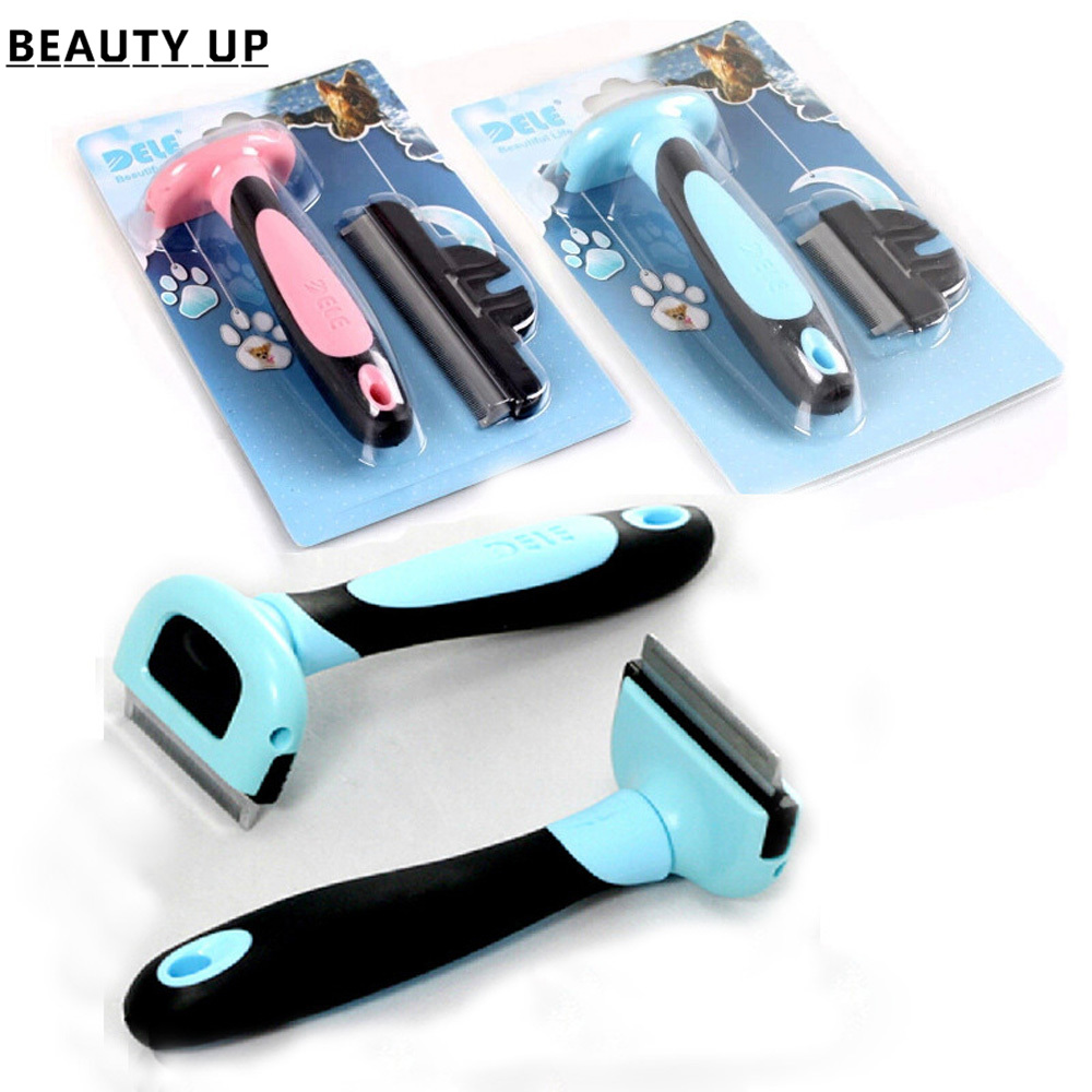 Hairs Comb For Pet Dog Cats Hair Grooming Brush Pet Hair Clipper Kitten Shedding Trimming Brush Detachable Remove the floating