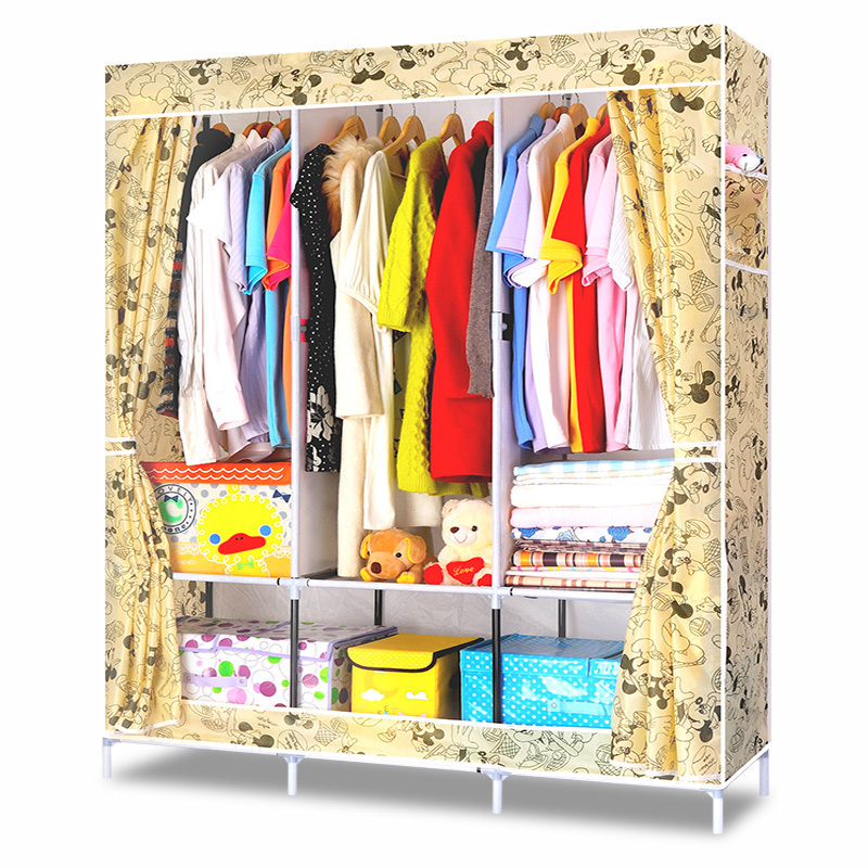Envío gratis DIY vestir combinación guardarropa no tejido tela de ...
