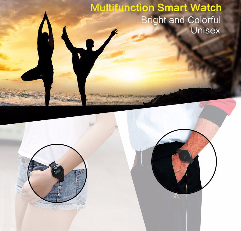 TK05 Bluetooth 4.0 Necklace Step Counter Sport Activity Fitness Tracker Smart Band Bracelet Wristband Better Than Fit Bit TW64 6