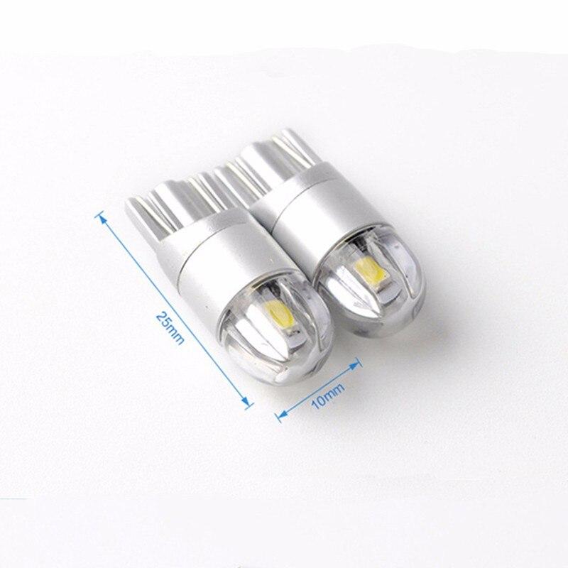4 τεμάχια T10 W5W Led 3030 SMD Led T10 w5w 194 λάμπα - Φώτα αυτοκινήτων - Φωτογραφία 2