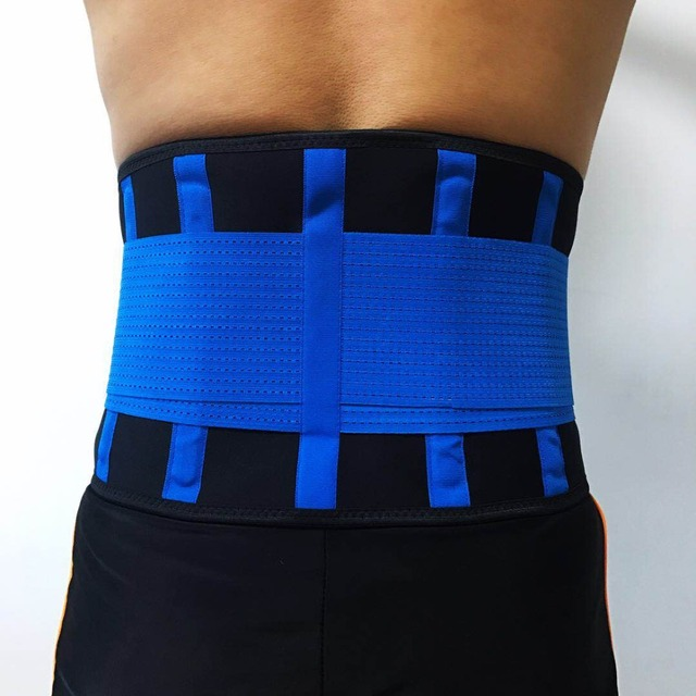 Adjustable Waist Back Belt Support Lumbar Band Protective Gear Waist Support Sport Breathable