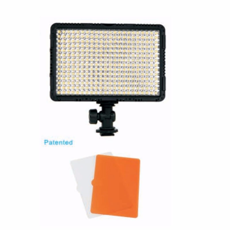 NanGuang CN-LUX3500 100V-240V 3200K/5600K LED Video Light Lamp For Canon Nikon Sony Cameras
