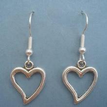 Design Drop Earrings Heart Pendants Dangle Earring For Women Christmas Gift Fashion Vintage Earring Jewelry heart design drop earrings
