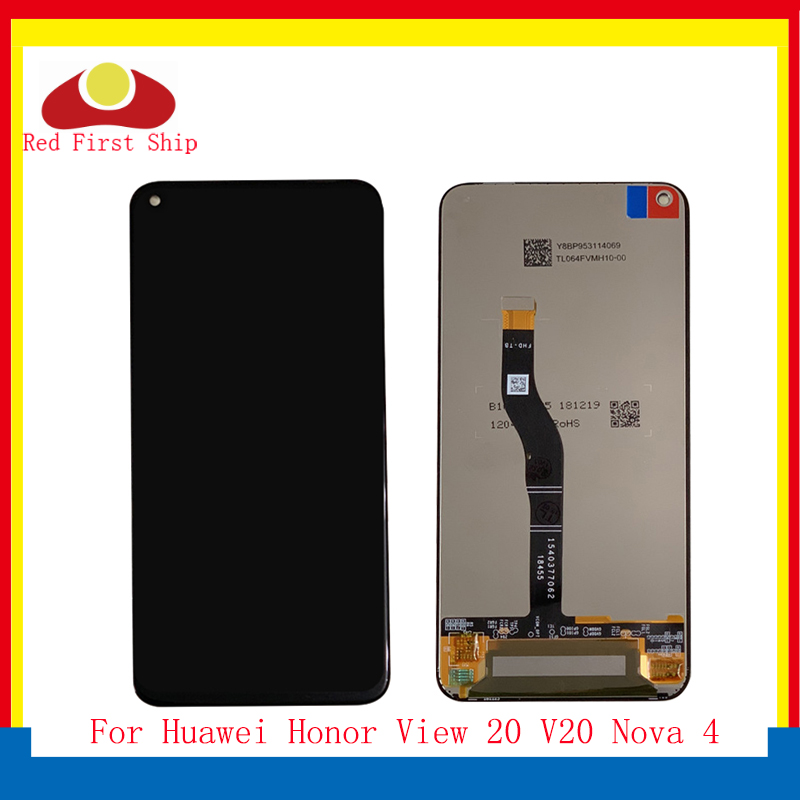 10Pcs lot For Huawei Honor View 20 V20 LCD Display Touch Screen Digitizer Assembly For Huawei Nova 4 monitor LCD Complete in Mobile Phone LCD Screens from Cellphones Telecommunications