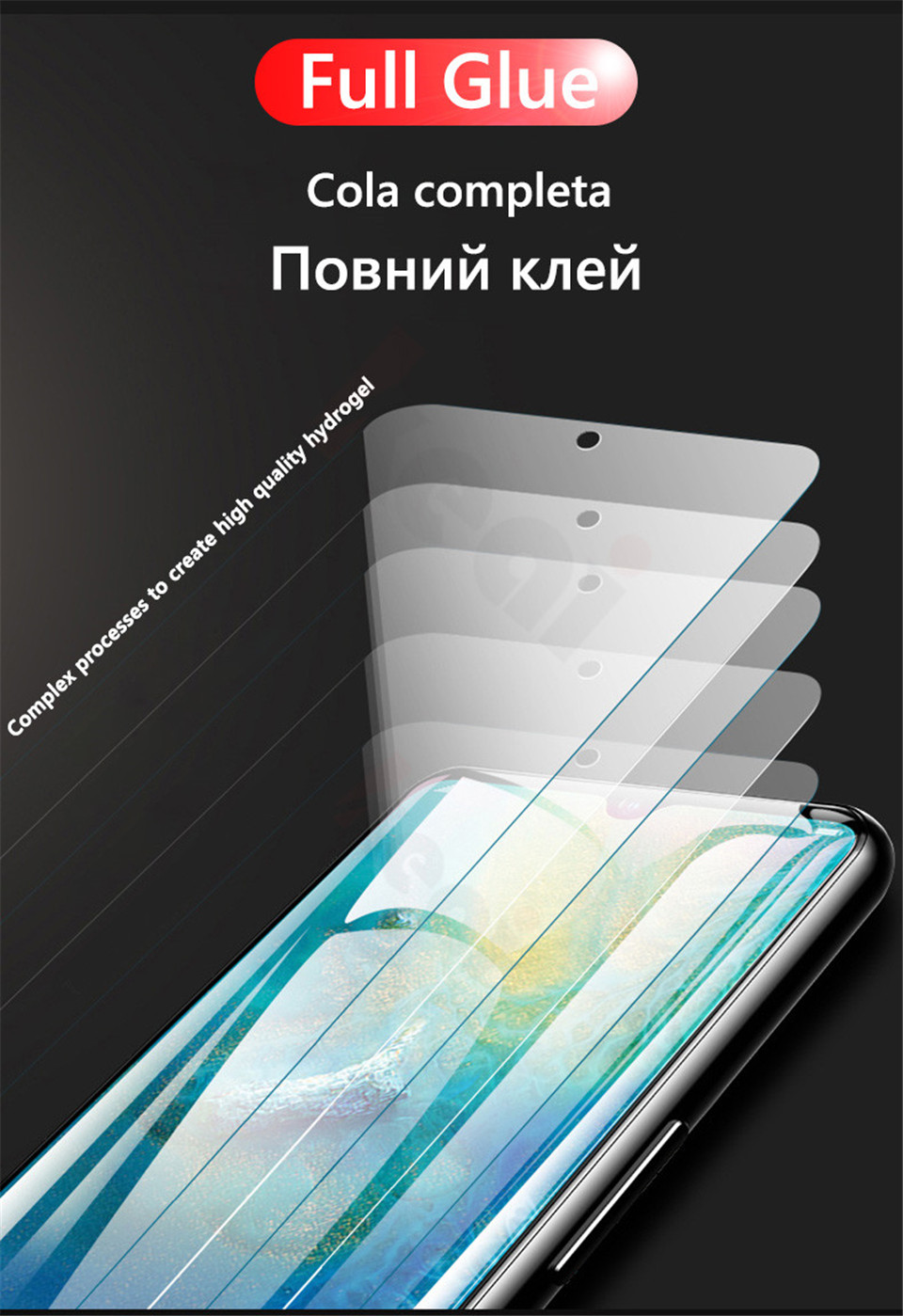 20D Screen Protector Hydrogel Film For Huawei P40 P20 P30 Lite Protective Film For Huawei Mate 20 Pro 10 Lite Film Not Glass HTB1tLV.V3HqK1RjSZJnq6zNLpXa9