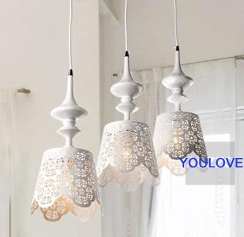 Modern Past Pendant Lights Fixture Home Indoor Lighting Dining Room Restaurant Hanging Lamps Droplights L67 50cm