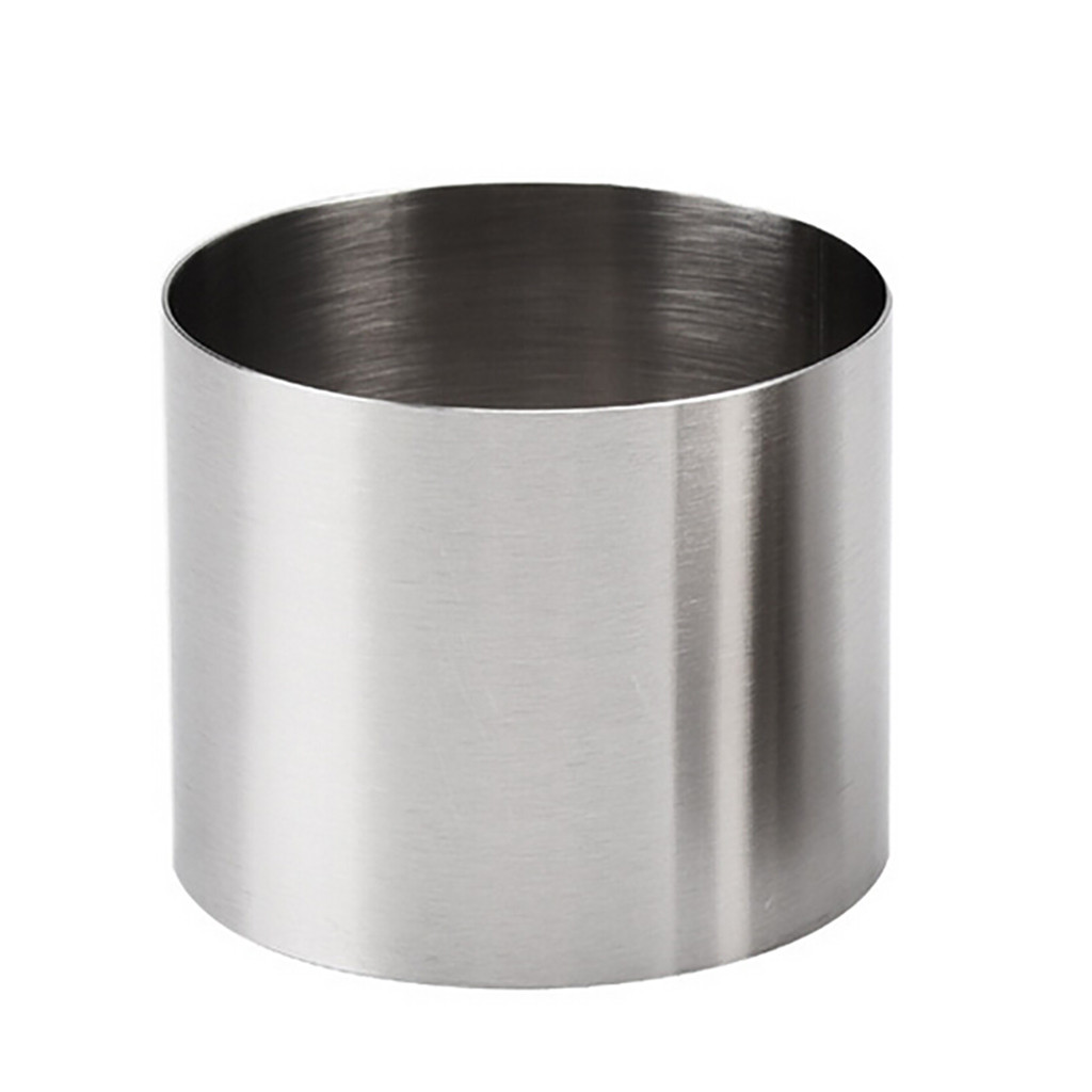 Mini Round Mousse Cake Food Grade Stainless Steel Pastry Ring For Baking Round Hurricane Mold Baking Tool Home Oven Embry#A(China)