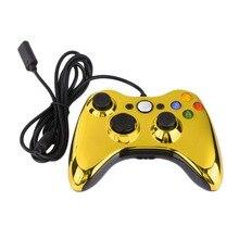 Геймпады USB проводной Joypad геймпад контроллер для Microsoft для Xbox 360 для Windows 7 кнопок Улучшенный Эргономичный дизайн