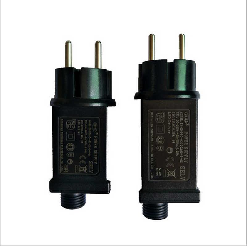 Zasilacz 31V 6 W, które są zawsze jasne/miga jazdy zasilacz Power LED ue wodoodporna IP44 zasilacz do łańcuchy świetlne światła LED