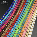 Diy колье 2016 новый Искусственные Замши алмазов плоским кожаный шнур ювелирные изделия материалы 5 ММ/500 СМ