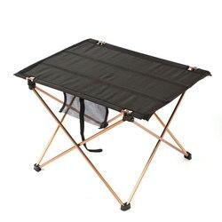 Odkryty składany stół kempingowy ze stopu Aluminium ze stopu Aluminium BBQ Beach Park tabeli wodoodporna ultralekki trwały składany stół biurko na piknik