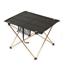 Outdoor Folding Table Camping Aluminium Alloy BBQ Beach Park Table Waterproof Ultra light Durable Folding Table Desk For Picnic
