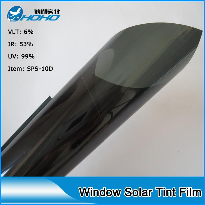 High grade Windshield Sun Shade Car Windshield Visor Cover Block Front Window Sunshade UV Protect Car Window Film 1.52x10m