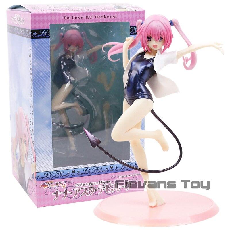 Anime To LOVE Ru Trouble Darkness Momo Belia Deviluke 1//7 PVC Figure Toy No Box