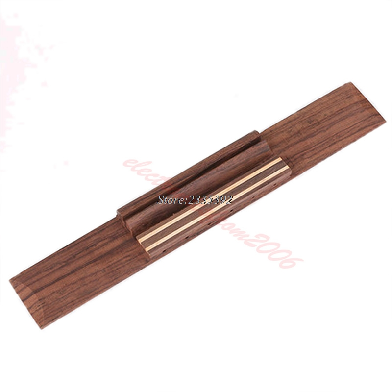 Free Shipping New Replacement Parts Rosewood Wood Classical Guitar Bridge