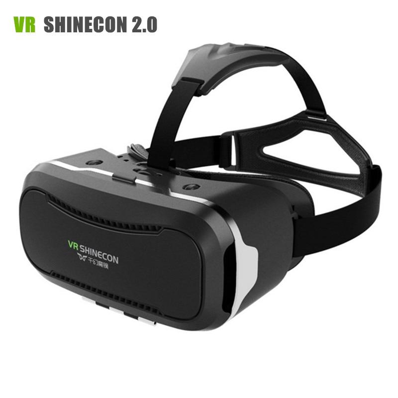 <font><b>VR</b></font> <font><b>Shinecon</b></font> II 2 <font><b>Virtual</b></font> <font><b>Reality</b></font> Goggles <font><b>Headset</b></font> 3D IMAX <font><b>Video</b></font> <font><b>Movie</b></font> Game Glasses Private Theater for 4.7 - 6 inch Mobile Phones