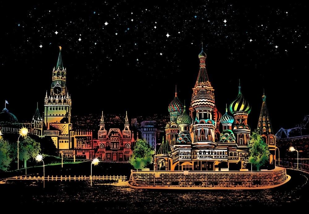 Pintura Decorativa rasguño raspado dibujo de papel mundo turismo Fotos decoración regalos de cumpleaños envío de la gota