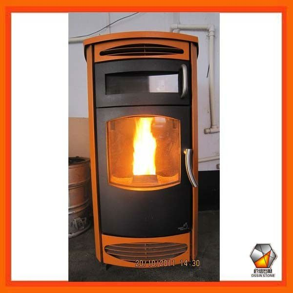 Modern Wood Pellet Stove With Oven WPS002