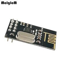 MCIGICM 200pcs NRF24L01 NRF24L01+ Wireless Module 2.4G Wireless Communication Module Upgrade Module