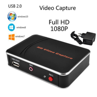 HD Game Video Capture 1080P HDMI Video Recorder 3.5mm Microphone Input For XBOX One/360 PS3 /PS4 with One Click No PC Enquired
