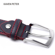 High Quality Split Leather Belt For Men