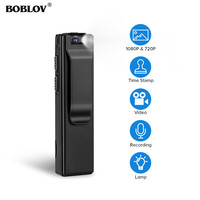 Boblov A3 Mini Digital Camera HD Law Enforcement Cam Magnetic Body Camera Motion Detection Snapshot Loop Recording Camcorder