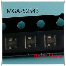 10PCS  MGA-52543-TR1G MGA-52543 MGA52543 MARKING 42 SOT-343 IC