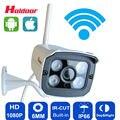 Câmera ip wifi 1080 p hd apoio cartão micro sd camara p2p infravermelho ao ar livre sem fio de segurança cctv à prova d' água ir cam rede
