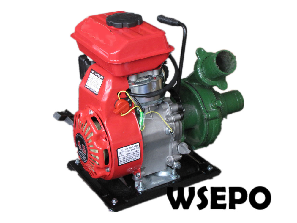 Factory Direct Supply! Inlet 2.5 In. Outlet 2 In. Cast Iron Centrifugal Water Pump Powered by WSE-152F 2.5HP Gasline Engine factory direct supply inlet 2 5 in outlet 2 in cast iron centrifugal water pump powered by wse 152f 2 5hp gasline engine
