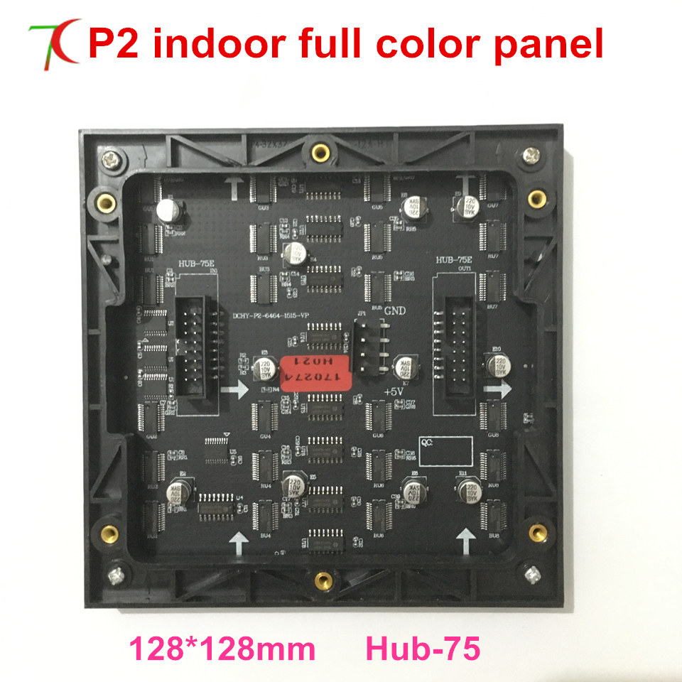 P2 Indoor Panel For Led Video Wall ,128mm*128mm,32scan,250000dots/sqm